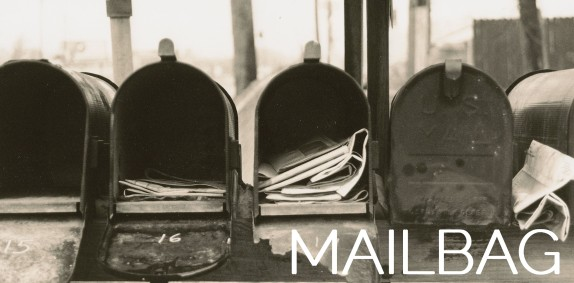 Monthly Mailbag